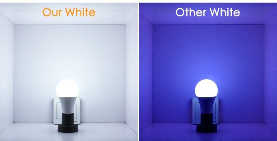 Lámpara inteligente blanco RGB LED