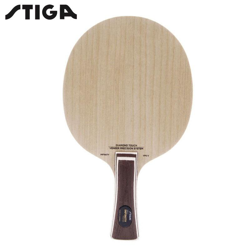 Wood Stiga Infinity VPS V-with Diamond Touch Table Tennis Blade One Size Master Grip