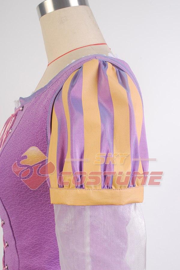 Niñas enredadas Princesa Rapunzel Disfraz Las Mujeres Adultas Visten - Disfraces - foto 6