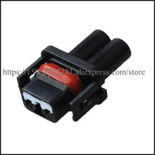 цена на 10SET DJ70216Y-1-21 male Connector cable Terminal plug connectors jacket auto Plug socket 2 pin female Connector automotive