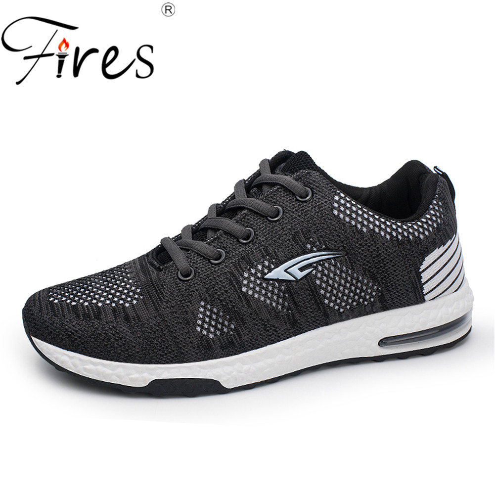 Fires 2018 Sneakers Breath Jogging For Men Sports Running Shoes Fly Weave Trainers Walking Sport Gym Shoes Zapatillas Hombre