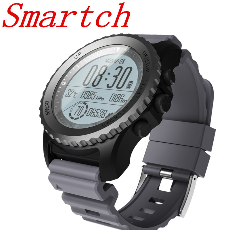 Smartch S968 Bluetooth Smart Watch Phone GPS Watch Men Heart Rate Monitoring IP68 Waterproof Smartwatch For Android Phone smartch h1 smart watch ip68 waterproof 1 39inch 400 400 gps wifi 3g heart rate 4gb 512mb smartwatch for android ios camera 500
