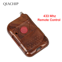 QIACHIP 433 Mhz Universal Wireless Remote Control Learning Code 433Mhz Transmitter For Gate Garage Opener Electric Door Fob Key