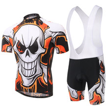 Cycling Jersey Ropa Ciclismo Bike Racing Mtb Quick Dry Bicycle Clothing Short Sleeves Summer Set L041