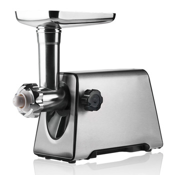 High Quality Stainless Steel Meat Grinders Electric Multifunction Cortadora De Fiambres Electrica