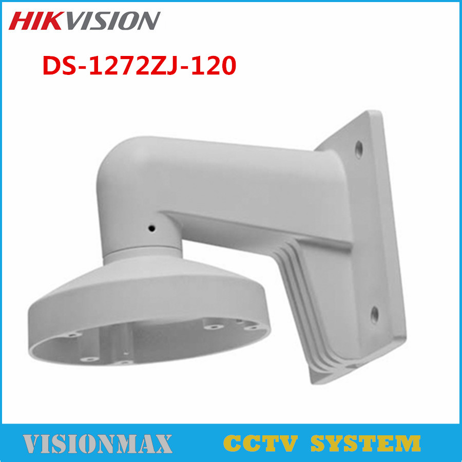 Hikvision Wall Mount bracket DS-1272ZJ-120 housing CCTV Accessories for DS-2CD71xx AND DS-2CD25xx Series IP Camera cctv bracket ds 1212zj indoor outdoor wall mount bracket suit for bullet camera s bracket ip camera bracket