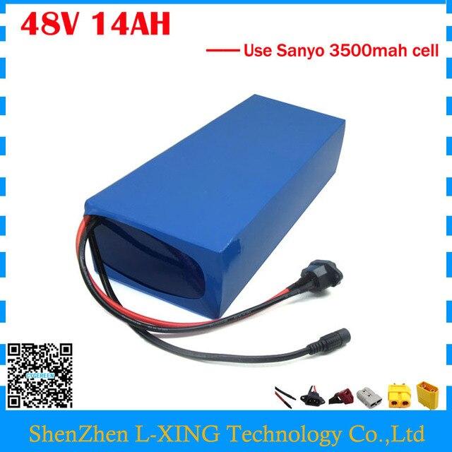 750w 48v 14ah Electric Bike Battery 48v 14ah Pvc Lithium Battery