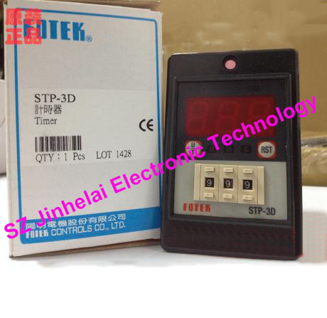 Authentic original STP-3D FOTEK Time relay, Multi-function digital timer new and original tm50 3d fotek time relay microcomputer digital delay timer