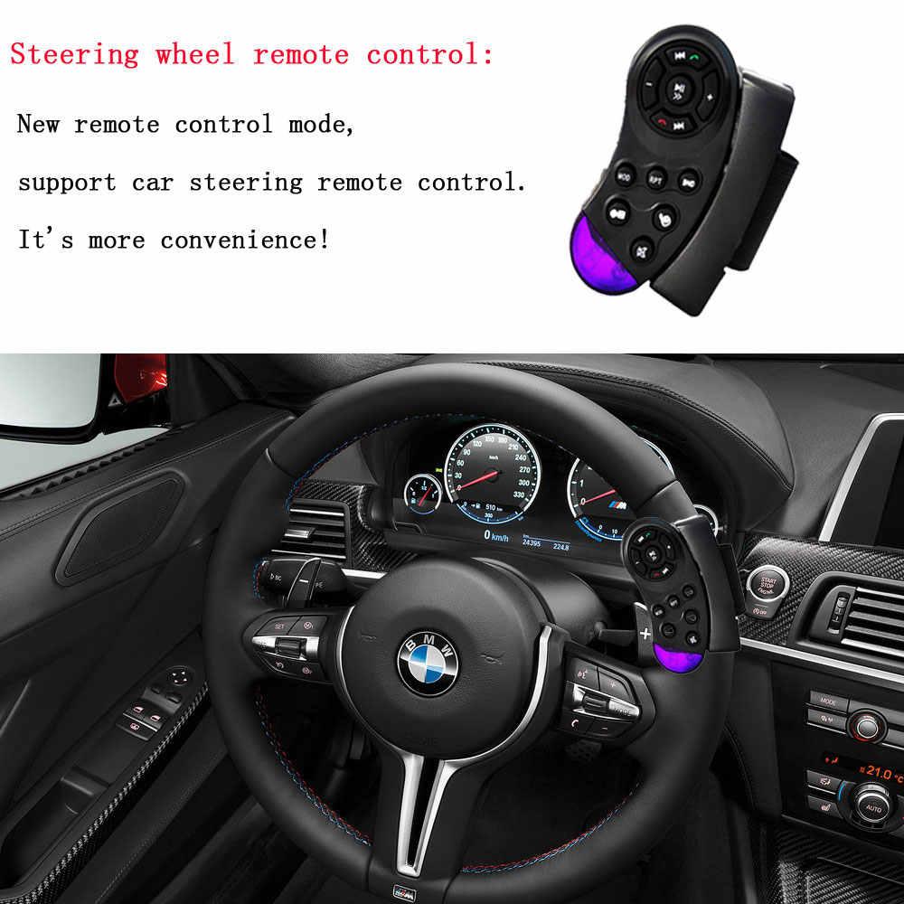 Podofo Autoradio 2 Din カーラジオ 6.6 ''インチの液晶タッチスクリーン車オーディオステレオ Bluetooth ハンズフリーリアビューカメラカメラフレーム