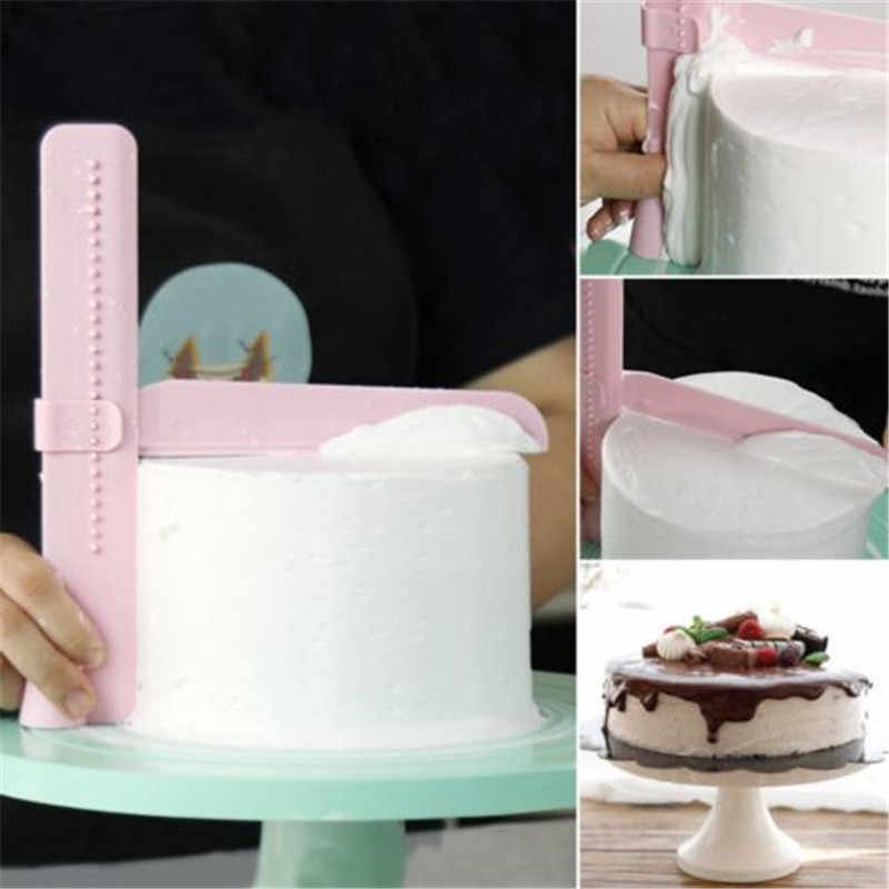 Adjustable Cake Smoother Tools Cutter Decorating Fondant Sugarcraft Icing Mold good choice tools in your kitchen