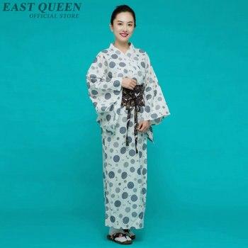 Traditional japanese kimonos japanese kimono yukata polka dot casual elegance kimonos japanese clothing fashion 2018 AA3837 Y A