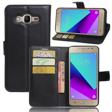 Luxury Wallet PU Leather Back Cover Phone Case For Samsung Galaxy J2 Prime G532 G532F SM-G532F Case 5.0 Inch Flip Protective Bag