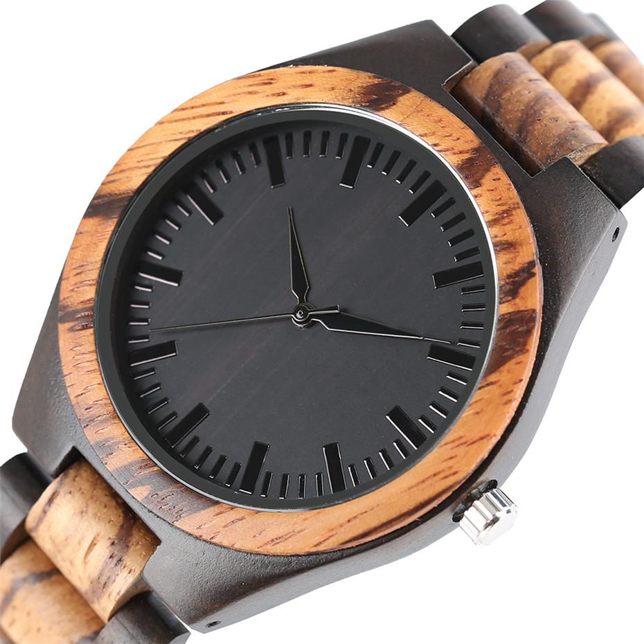 YISUYA Luxury Wooden Watches for Men Vintage Analog Quartz Handmade Walnut Zebra Bamboo Wood Band Wristwatch Clock Christmas Gifts Reloj  (8)