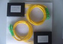 Коннектор sc/apc оптоволоконный разветвитель коробка abs 1*4