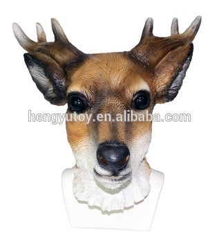 Latex deer mask exact answer