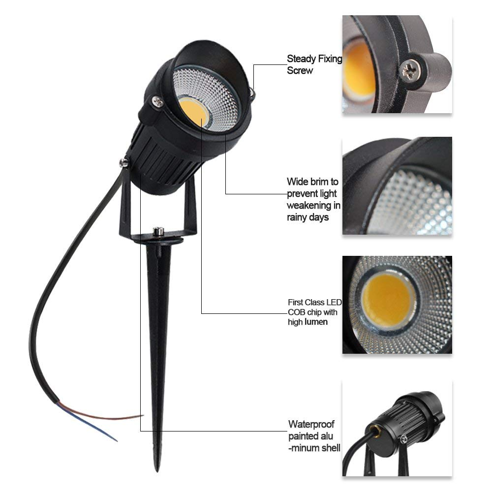 lowest price YANKE LED Solar Lawn Lights Outdoor IP67 Lamp for Courtyard Garden Balcony Waterproof Led Solar Garden Light Lawn Night Light