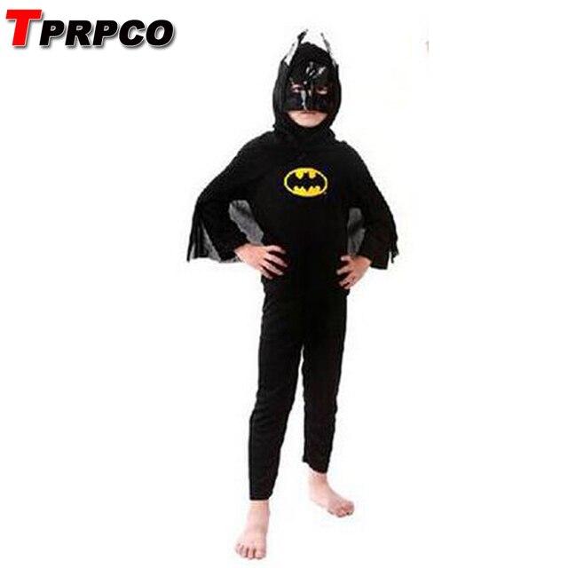 45d981ecb TPRPCO nueva Masquerade Batman disfraces de Halloween para niños traje  Batman animado Outfit ropa Performance NL680