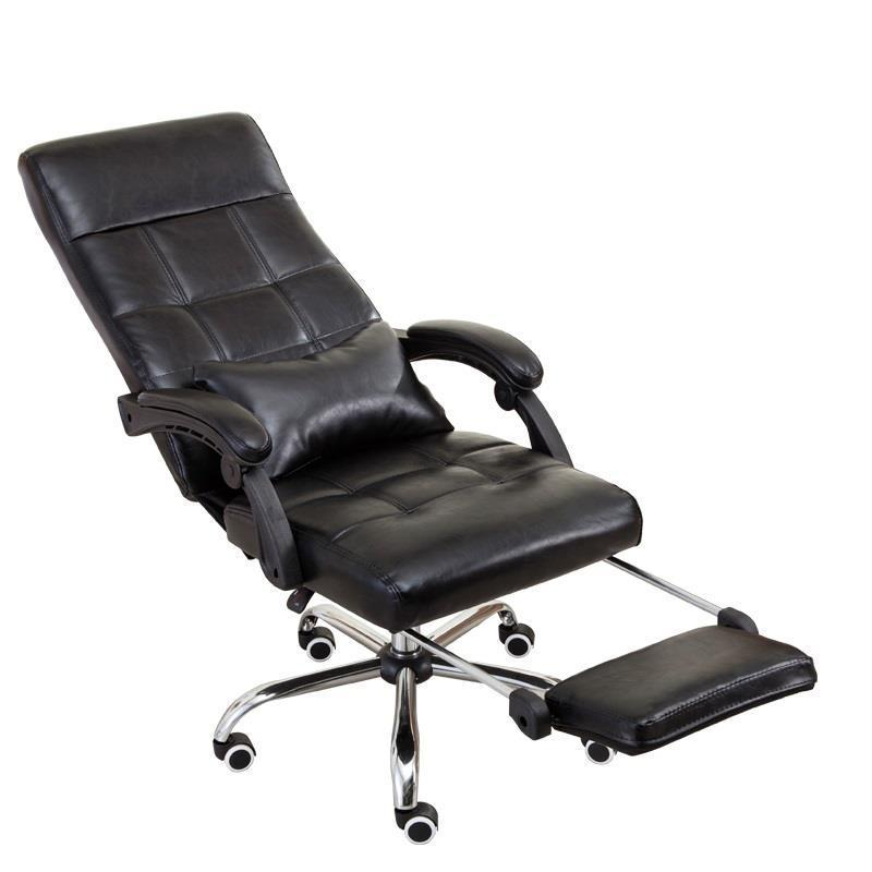 Bow foot computer home study office recliner conference leather boss chair the boss chair conference reception negotiation of large chair recreational office leather chair