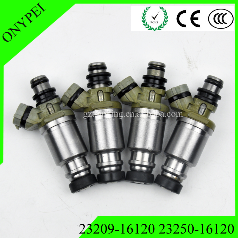 4X 23250 16120 23209 16120 Fuel Injector For 1990 1993 Toyota Celica Corolla 1 6 2325016120