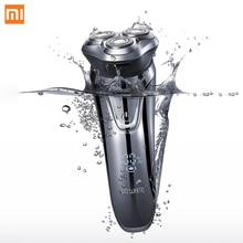 Xiaomi Soocas So White электробритва usb зарядка 3D плавающее лезвие электрическая бритва для мужчин светодиодный дисплей борода бритвенный станок