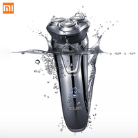 Xiaomi Soocas So White Electric Shaver USB Charging 3D Floating Blade Electric Razor for Men LED Display Beard Shaving Machine