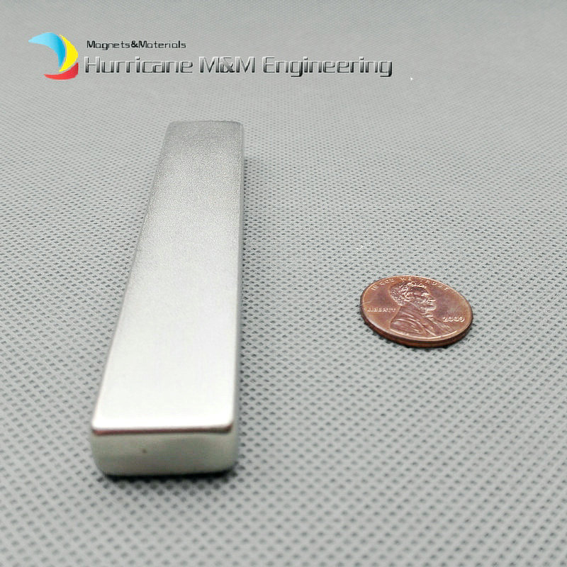 1 pack Grade N52 NdFeB Block about 100x20x10 mm bar Strong Neodymium Permanent Magnets Rare Earth Industry Magnet1 pack Grade N52 NdFeB Block about 100x20x10 mm bar Strong Neodymium Permanent Magnets Rare Earth Industry Magnet