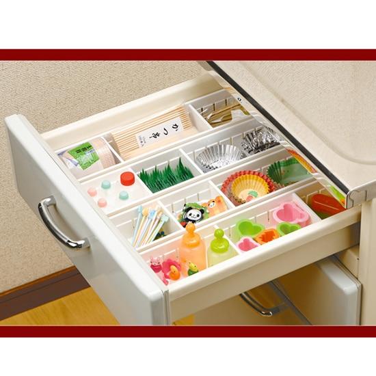 Adjule New Drawer Organizer Home Kitchen Board Free Divider Tableware Storage Box Creative Design China