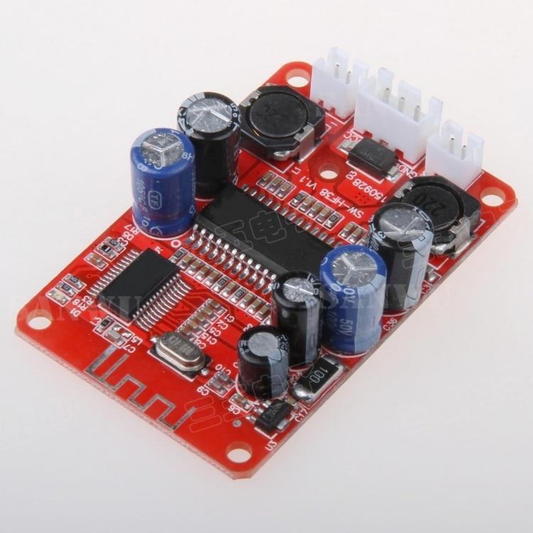 все цены на  Bluetooth audio digital power amplifier board high cost Bluetooth speaker amplifier board 2X15W stereo amplifier  онлайн