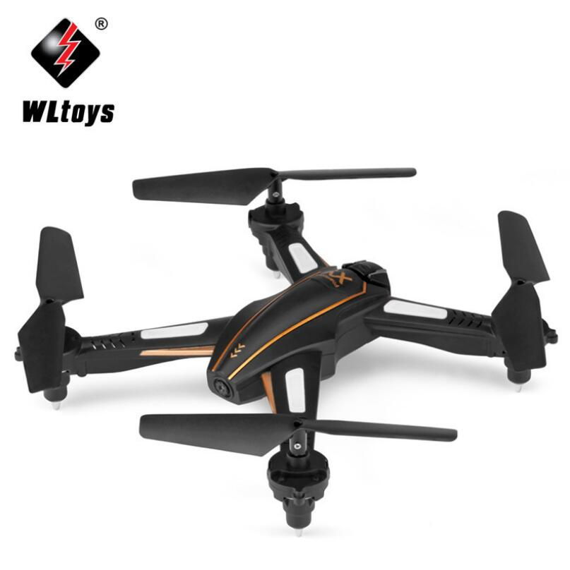 Wltoys Q616 Wi-Fi FPV 0.3MP Drone With Camera Selfie Dron Altitude Hold RC Quadcopter RTF Remote Control Helicopter Toys