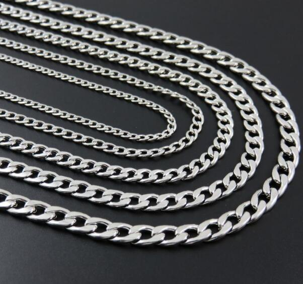 GNAYY 5meter stainless steel Box Link chain Jewelry Finding Chain DIY Thin 1.6mm