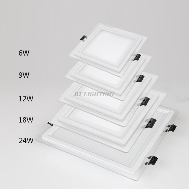 Energiesparende LED Panel Downlight Dimmbare Led deckeneinbauleuchte ...