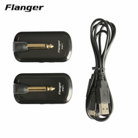 Flanger FW1 Guitar Wireless System Rechargeable 2.4HZ for Guitar Bass Audio Transmitter Receiver Companion for Musician New