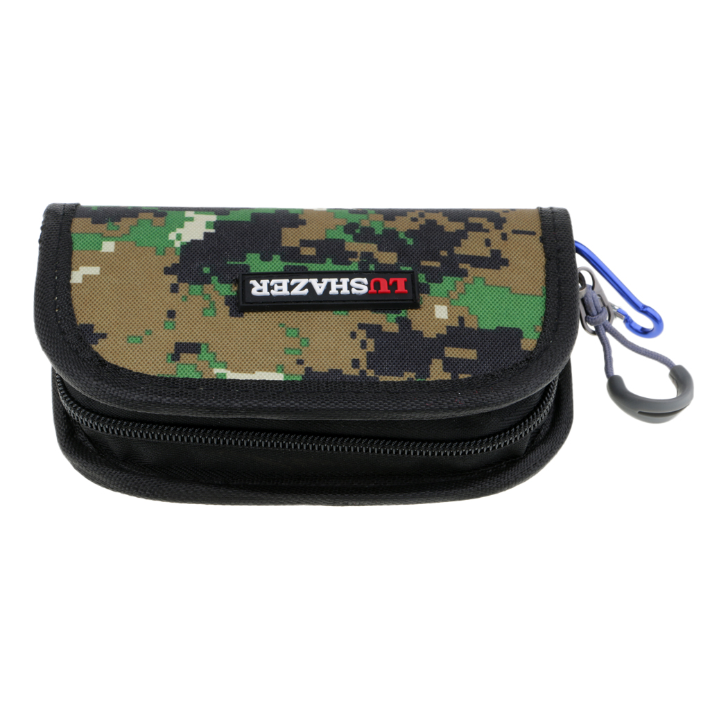 LN/_ US/_ Fishing Pouch Spoon Lure Waterproof Tackle Bag Wallet Spinner Baits-St