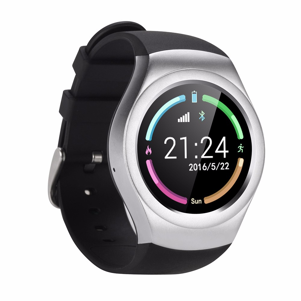 Nuevo bluetooth smart watch v365 círculo completo pantalla táctil smartwatch spo