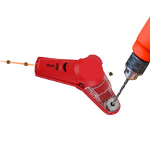 Drill Buddy Cordless Dust Collector with Laser Level, Bubble vial, Great for picture hanging and DIYs- Class-II