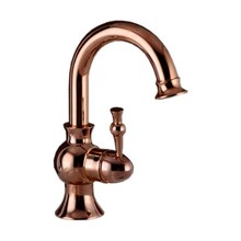 Swivel Spout Luxury Rose Golden Brass Single Handle Kitchen Sink Faucet Mixer Tap Cgf015