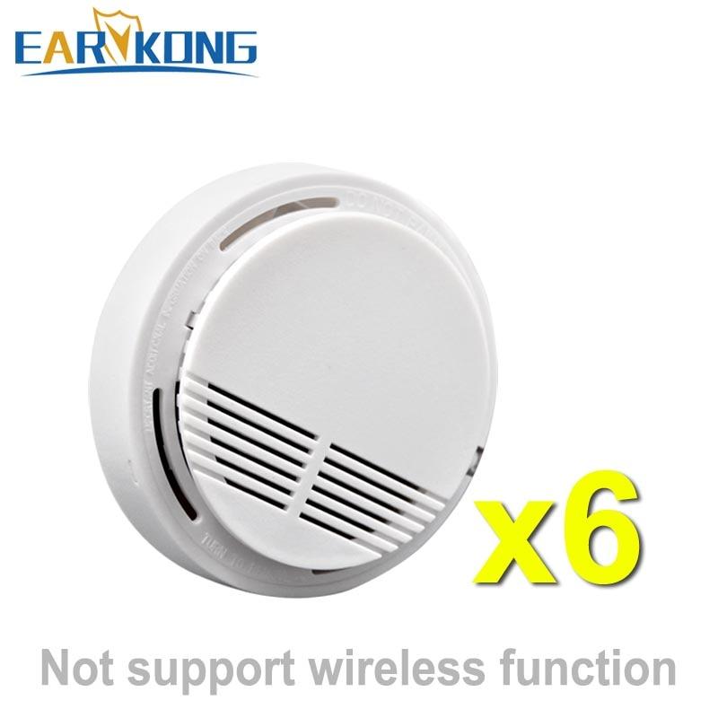 Independent Smoke Detector Fire Alarm Sensor For Indoor Home Safety Garden Security CX-SM-06