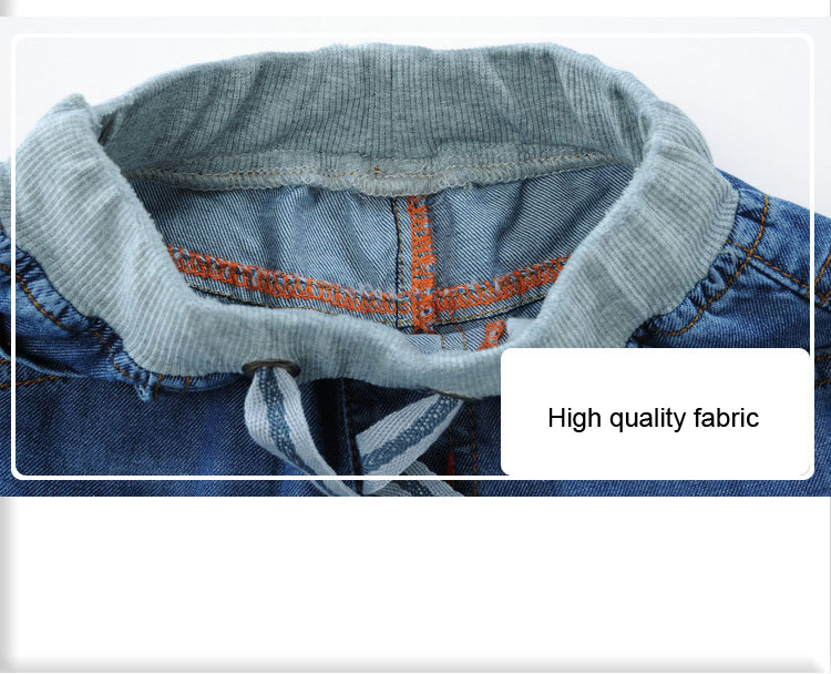 2018 Fashion Baby Boys Jeans Shorts For Summer Teen Boy Toddler Denim Short Pants Thin 100 Cotton Children 39 s Clothes 2T 14Y in Jeans from Mother amp Kids