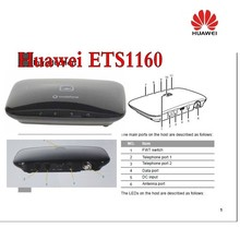 HUAWEI ETS1160 2G GSM 3G UMTS WCDMA FIXED WIRELESS TERMINAL QUAD BAND FWT