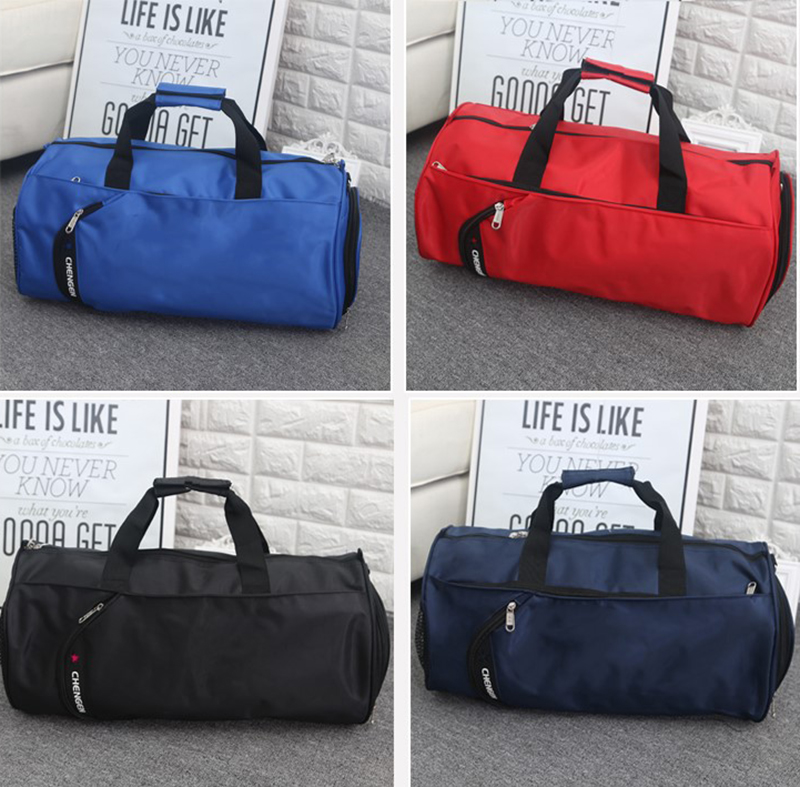 15296f232738 High Quality Nylon Travel Bag Women Men Large Duffel Bag Packing Cubes  Luggage Portable Shoes Bags Travel Organizer Weekend Bags Material  Nylon