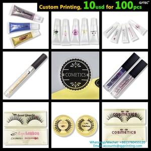 100pcs 35mm Custom Label Handmade Clear Transparent Vinyl PVC Thank You Stickers Wedding Brand Logo Seal Sticker Adhesive Labels(China)