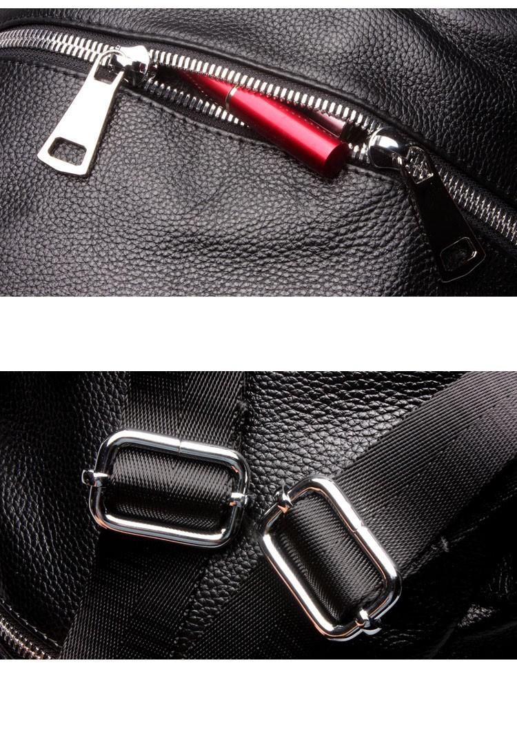 women genuine leather backapck 15