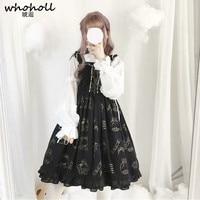 WHOHOLL Anime Comiket Cosplay Costumes Lolita Dress Women Girl Lolita Japanese Kawaii Girls Princess Dress Cosplay Maid Clothing