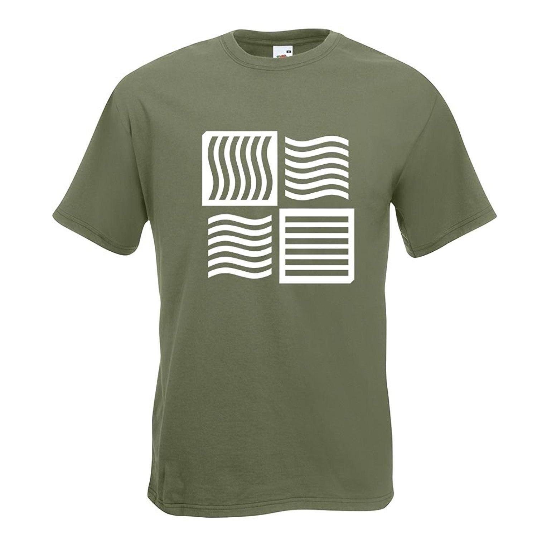 Возьмите пятый ELE Для мужчин T футболка с логотипом в 15 различных Цвета-Для Мужчинs funshirt печатных Дизайн весело Motive Топ хлопок Размеры S M L XL xxl ...