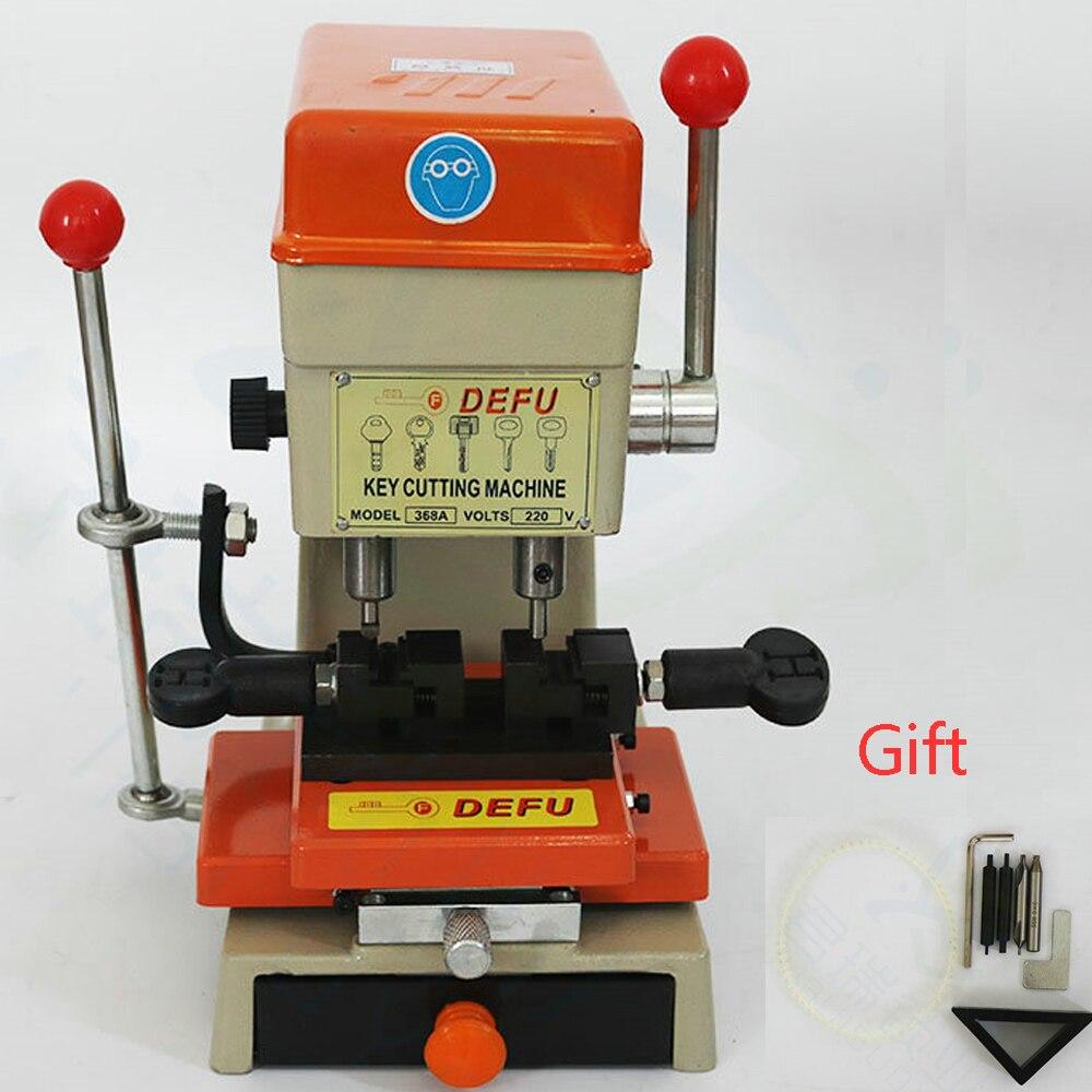 CHKJ Defu 368A Vertical Key Cutting Machine Key Duplicating Machine for Making Car Keys End Milling
