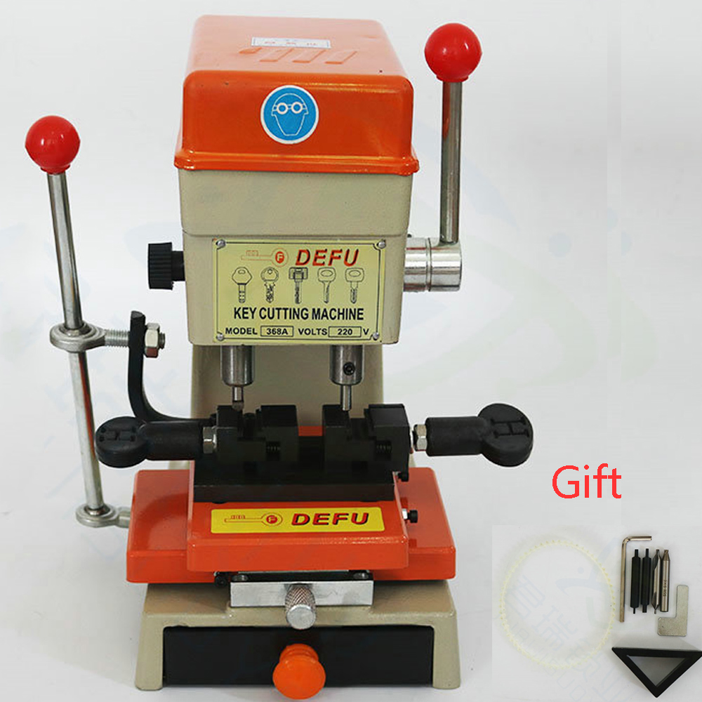 CHKJ Defu 368A Vertical Key Cutting Machine Key Duplicating Machine for Making Car Keys End Milling Locksmith Supplies CHKJ Defu 368A Vertical Key Cutting Machine Key Duplicating Machine for Making Car Keys End Milling Locksmith Supplies