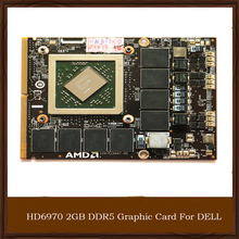 Original Genuine HD6970 2GB DDR5 Graphic Card For DELL AMD Game Display Video Card GPU Replacement Tested Working