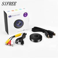 SIFREE Q1 Mirroring Dongle OTA TV Stick Dongle HDMI AV Wi Fi Display Receiver DLNA Airplay Chromecast Support IOS/Android