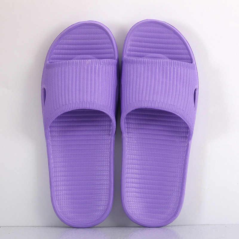 Eva Home Hotel sandalias y zapatillas mujer antideslizante baño casa zapatillas hombres parejas una palabra Drag baño hospitalario los zapatos de los hombres