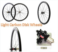 700C Disc Brake 6 Bolt Lock Hubs 38mm 45mm 50mm 60mm Clincher Wheels Carbon Bicycle Full Carbon Cyclocross Wheelset
